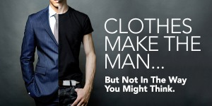 Clothes do make the man, the monk and the teacher