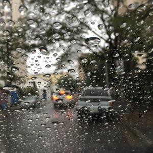 Sometimes the rain comes